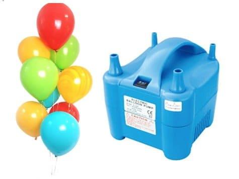 Ballonnen pomp huren