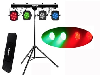 Lichtset of discolampen huren