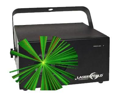 Laser Lichteffect RGB huren
