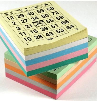 Bingokaarten voor huur bij Bingomolen