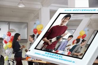 Videozuil wenspaal SDC-Verhuur Gratis Transport heel Nederland