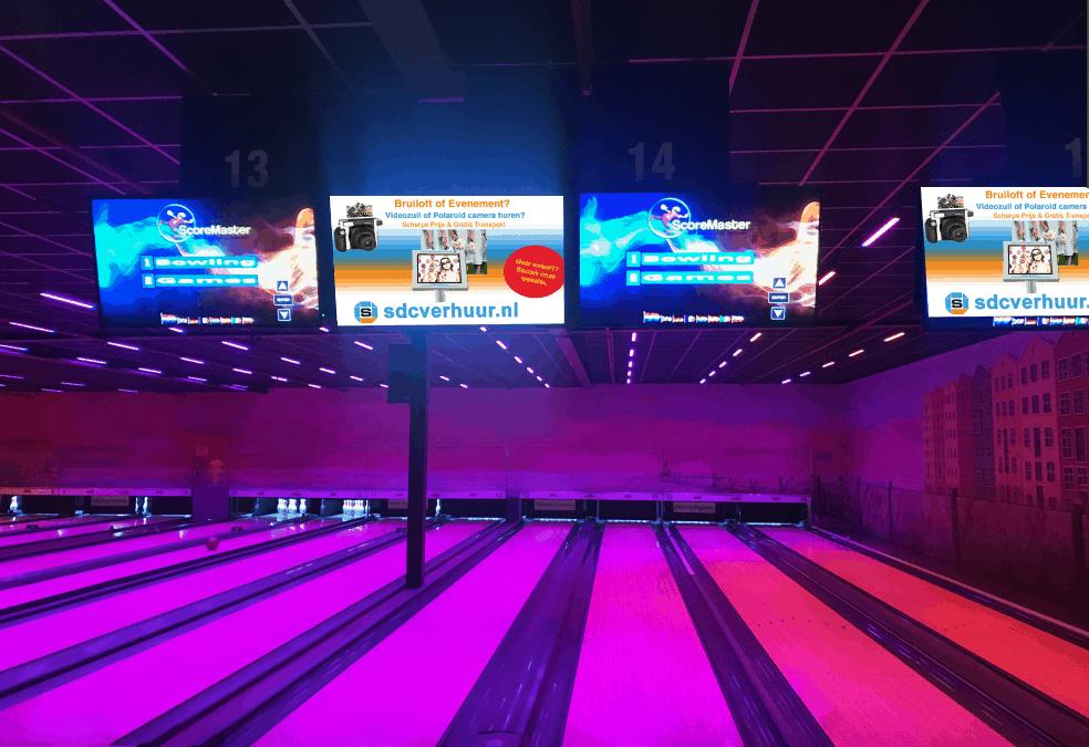 SDC-Verhuur op de Bowlingbaan!